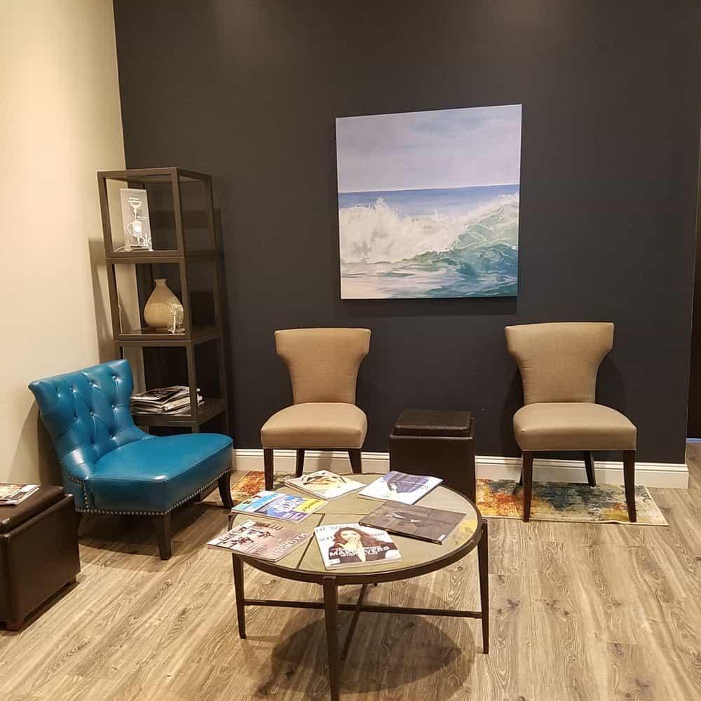 interior office; waiting room