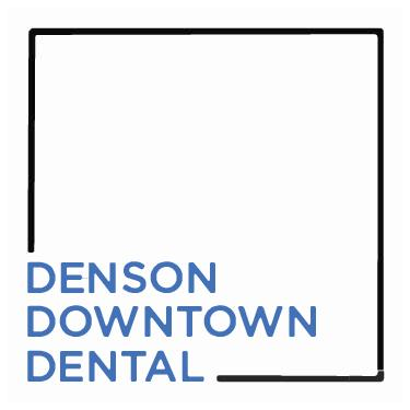 Denson Downtown White Logo
